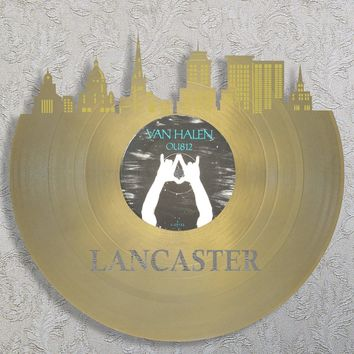 Lancaster Art, Penn State Gifts, Amish Gifts, Pennsylvania Wedding Gift Idea, Lancaster PA, Lancaster Skyline, Dorm Decor Ideas For Boys