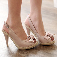 YESSTYLE: 59 Seconds- Bow Accent Pumps - Free International Shipping on orders over $150