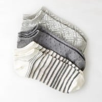 AEO Bright Printed Shortie Sock 3-Pack