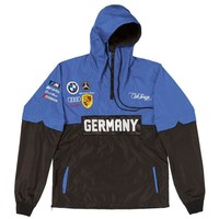 ONETOW Club Foreign Germany Two Tone Windbreaker Blue & Black