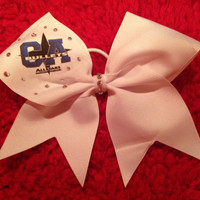 California Allstars Bullets Cheer Bow