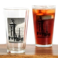 Alexander III Bridge Drinking Glass