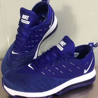 """Nike Air Max Dlx 2019"" Men Sport Casual Fashion Breathable Air Cushion Running Shoes Sneakers"
