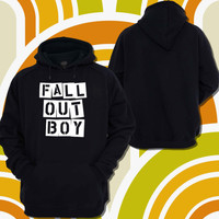 Fall Out Boy Band Hoodie women, Hoodie Men, Materials Cotton,