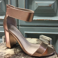 Rose Gold Aniston Heel