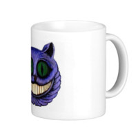 CHESHIRE CAT HEAD (design 1) Mugs
