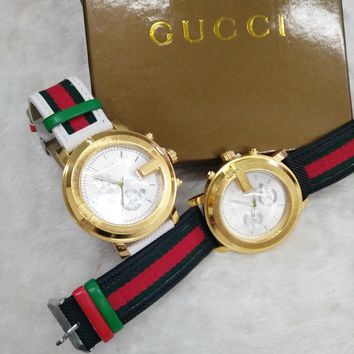 GUCCI Fashionable Men's and Women's Fashion Watches F