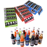 Jones Soda Carbonated Candy Tins: 24-Piece Assortment Box