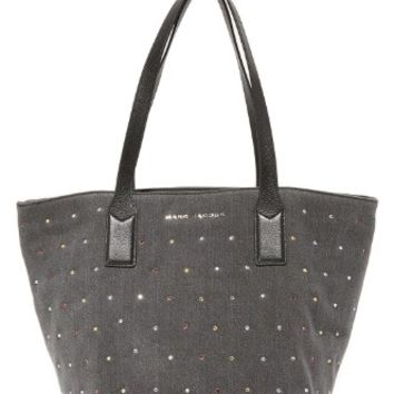 Embellished Denim Wingman Tote