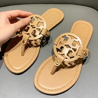 Tory Burch Summer Classic Fashionable Women Casual Sandals Slippers Shoes