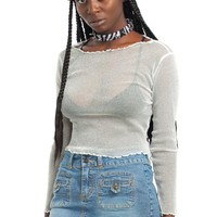 Vintage Y2K Roxy Stretch Denim Mini Skirt - M