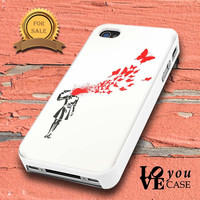 Banksy Butterflies for iphone, ipod, samsung galaxy, HTC and Nexus Case