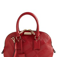 Burberry 'Small Orchard' Leather Satchel