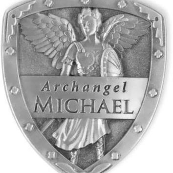 Archangel Michael Protection Pocket Shield Token