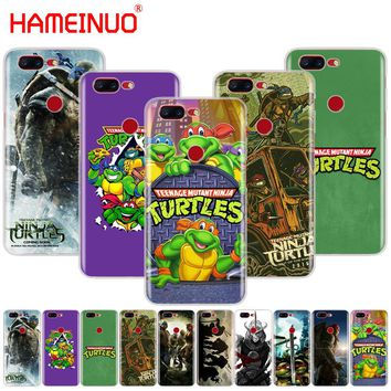 HAMEINUO TMNT Teenage Mutant Ninja Turtles cover phone case for Oneplus one plus 5T 5 3 3t 2 X A3000 A5000
