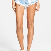 Women's One Teaspoon 'Bonitas' Low Rise Cutoff Denim Shorts ,