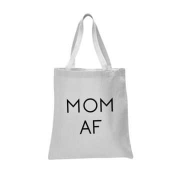 Mom AF Cosmetic and Tote Bag