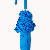 Ruffled Travel Umbrella
