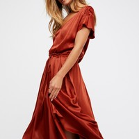 Free People Love and Feeling Midi Dress