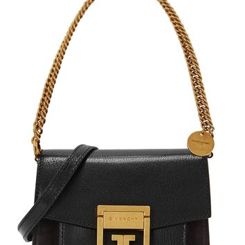 GV3 mini leather cross-body bag