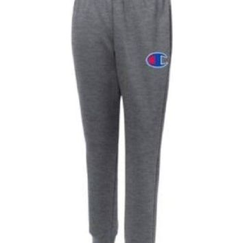 Champion Life™ Men's Reverse Weave® Trim Jogger Pants Big C