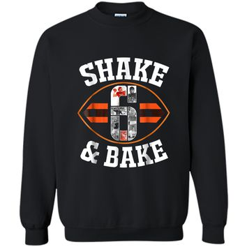 Cleveland Shake & Bake Mayfield  funny  Printed Crewneck Pullover Sweatshirt