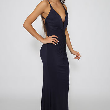 Lunar Eclipse Dress - Navy