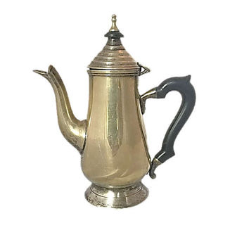 Silver Plate Teapot | Tea Pot | Leonard Silver | Vintage Serving Piece