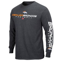 Denver Broncos Dual Threat IV LS Tee - Men