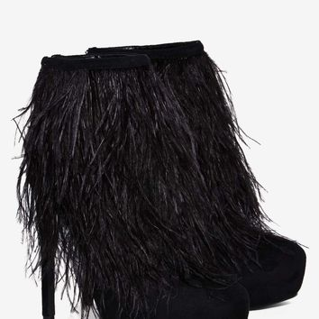 Privileged Suri Feather Bootie