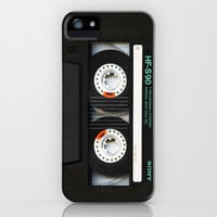 Classic retro sony cassette tape apple iPhone 4 4s, 5 5s 5c, iPod & samsung galaxy s4 case