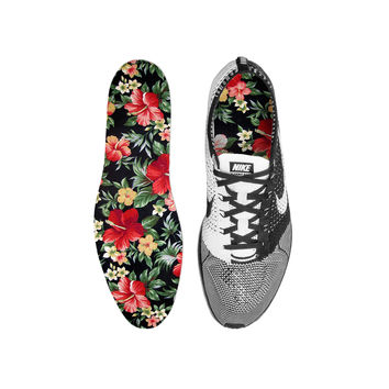 Hawaiian Floral Custom Insoles