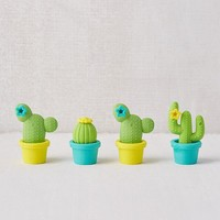 Potted Cactus Eraser Set | Urban Outfitters