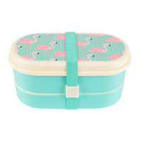Pink Flamingo Bento Lunch Box