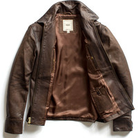 Brown Dean Leather Jacket