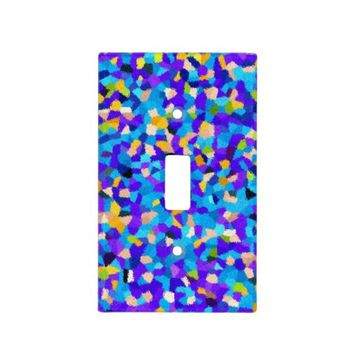 Colorful Confetti Light Switch Cover