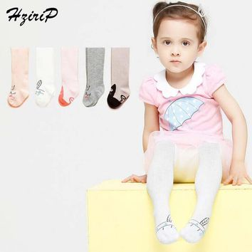 Hot Sale New Fashion Baby Tights Asymmetrical Pantyhose 100%Cotton Warm Baby Tights Baby Girls Clothes Cartoon Baby Pantyhose