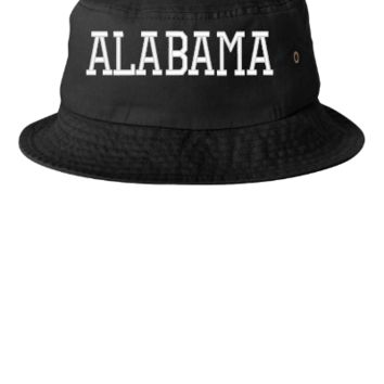 ALABAMA EMBROIDERY HAT  - Bucket Hat