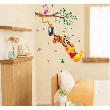 Winnie The Pooh Wall Stickers Nursery Kids Baby Room (Color: Multicolor) [8834022348]