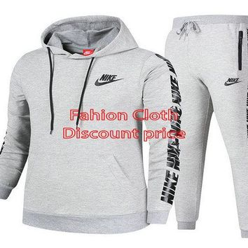 Nike Sweater Unisex Sport Casual Style Clothing S-3XL 91968 Grey