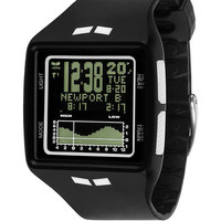 Vestal BRG002 Men's Watch Brig Digital Tide & Train by Jordy Smith Black/White/Negative
