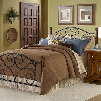 Fashion Bed Group Doral California King Bed (Black)