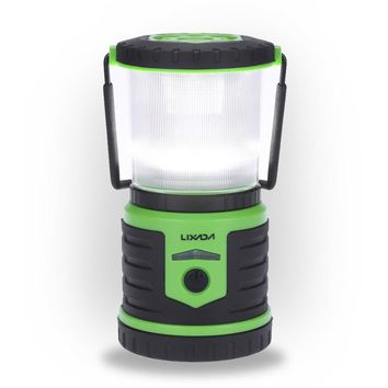 Lixada 5W 400LM Rechargeable Ultra Bright Camping Lantern 6000mAh Mobile Power Bank 6 Lighting Modes White Red Strobe Emergency Water-resistant 360 Degree Illumination Light Portable Tent Light Basements Garages Camping Hiking Indoor Outdoor Activities Us