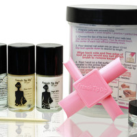 French Tip Dip Essentials French Manicure & Pedicure Kit  x2 - French Tip Dip French Manicure & pedicure Kits