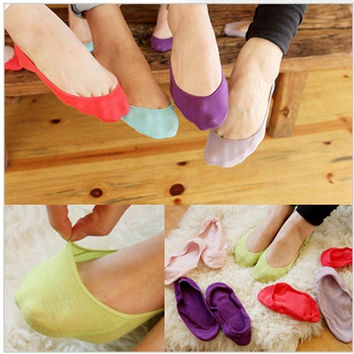 20 pieces / lot women socks ankle low female invisible socks sock slippers shallow mouth summer sock thin high cotton solid color = 1930342532