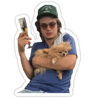 'Joe Keery' Sticker by RickySpanish13