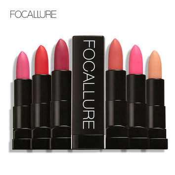 FOCALLURE 12 Hot Matte Colors Lipstick Long Lasting Waterproof Matte Lip Stick Matte Lip Makeup Lip Gloss Makeup