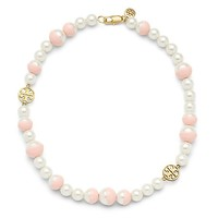 Tory Burch Dipped Evie Short Necklace