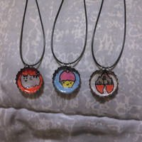 Bottle Cap Necklaces (custom orders available!!)