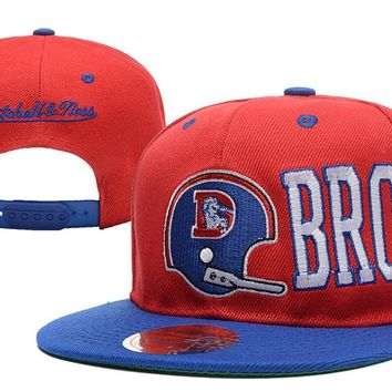 Denver Broncos Snapback NFL Football Hat M&N
